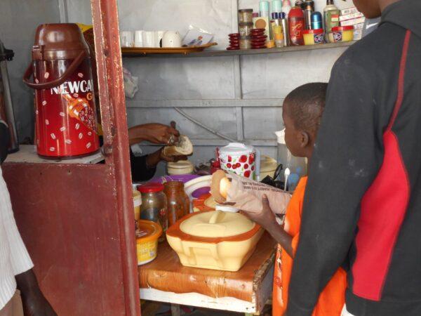 セネガル食堂