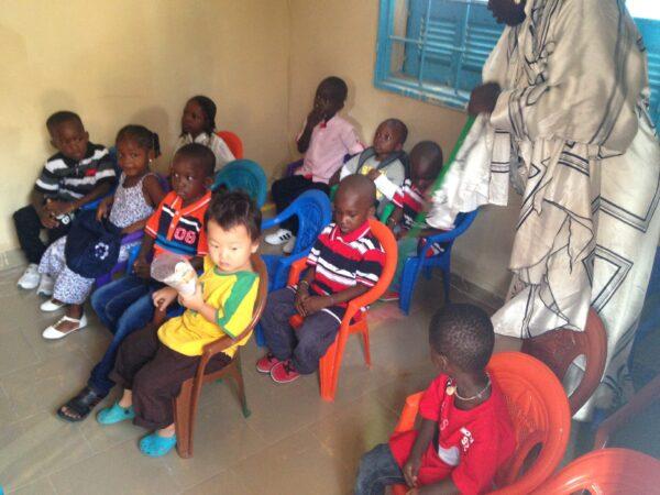 アフリカに幼稚園ってあるの?