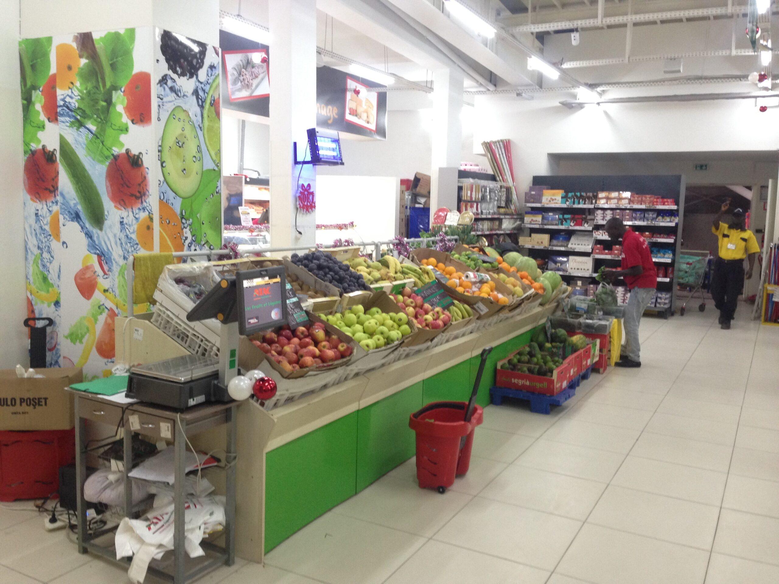 アフリカ スーパーマーケット